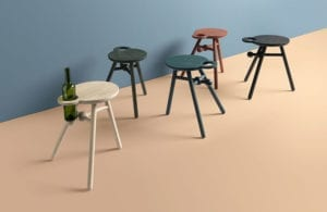 Bottle stool by Kranen/Gille
